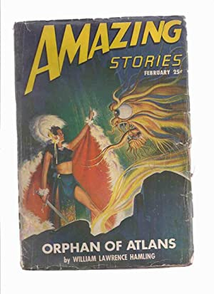 Amazing Stories Science Fiction Pulp Magazine, August: William Lawrence Hamling,