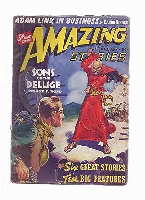 Amazing Stories, January 1940, volume 14, #: Amazing Stories /