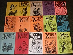 Weird Stories, 13 Issues ( 1, 3: Johnson, Tom, Virginia