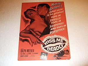 Kiss Me Deadly - Advertisement in the: Spillane, Mickey /