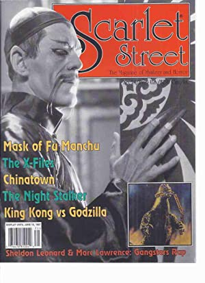 SCARLET STREET: The Magazine of Mystery and: Valley, Richard (ed.);