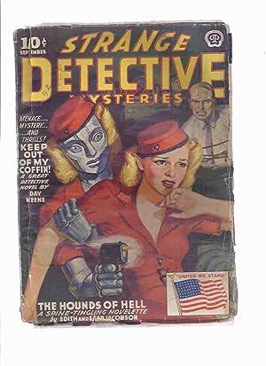 Strange Detective Mysteries Pulp, Volume 8, #: Strange Detective Mysteries