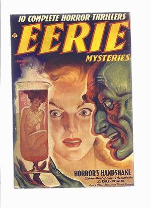 Eerie Mysteries Volume 1, # 3, February: Powers, Ralph (