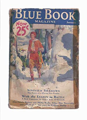 Blue Book Magazine, January 1933 Volume 56: Burroughs, Edgar Rice;