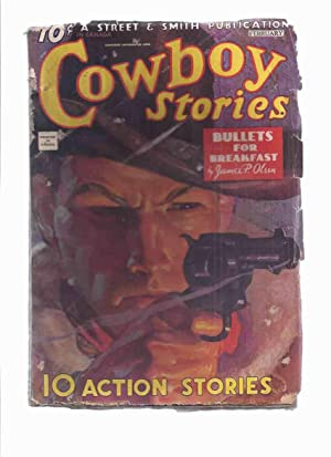 Cowboy Stories, February 1935, Volume XXVII #: Olsen, James P;