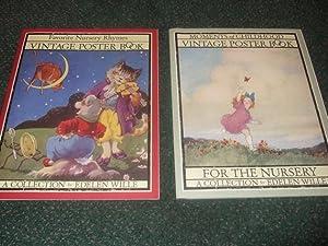 Favorite Nursery Rhymes Vintage Poster Book /: White, Edelen /
