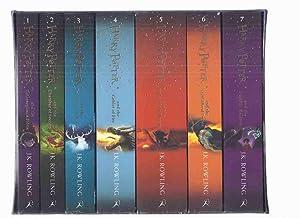 SEVEN Volumes in Slipcase: Harry Potter &: Rowling, J K