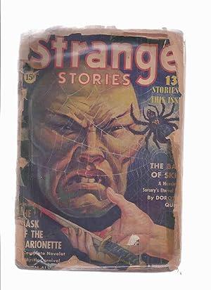 Strange Stories Pulp, Volume 3, # 1,: Strange Stories Pulp:
