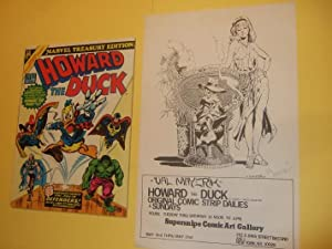 Howard the Duck Marvel Treasury Edition #: Stan Lee /