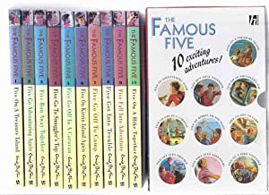 The Famous Five, 10 Volumes in a: Blyton, Enid (aka