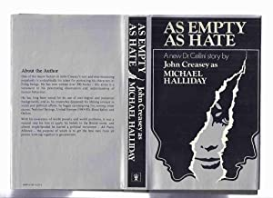 As Empty as Hate: Book 8 in: Creasey, John as
