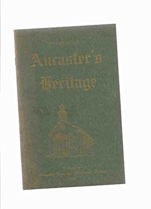 Ancaster's Heritage - APPENDIX (to Volume 1: Ancaster Township Historical