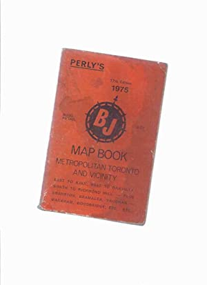 1975 17th Edition Perly's BJ Map Book: No Author /