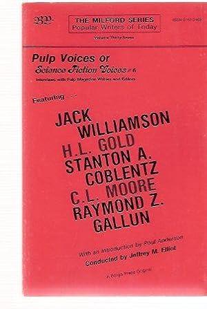 Pulp Voices or Science Fiction Voices #: Elliot, Jeffrey M,