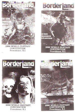 BorderLand Dark Fantasy Magazine, Promotional Giveaways for: Hadji, R.S. (ed.)