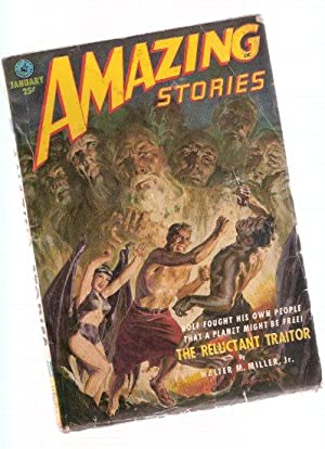 Amazing Stories Science Fiction Pulp Magazine, Volume: Miller, Walter M
