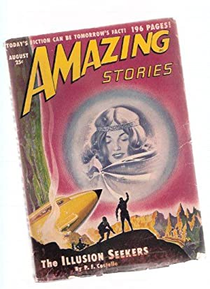 Amazing Stories Science Fiction Pulp Magazine, Volume: Costello, P F;