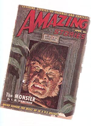 Amazing Stories Science Fiction Pulp Magazine, Volume: Tenneshaw, S M;