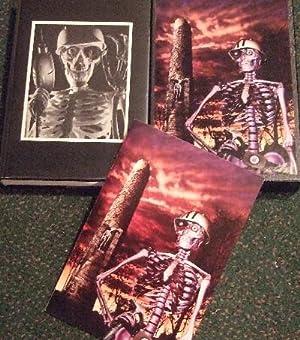 The ART of Skeleton Crew Portfolio -with: King, Stephen (signed)(aka: