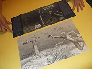 Original Art / Artwork for Revised Edition of Dagon and Other Tales -by Tony Patrick -signed ( Ar...