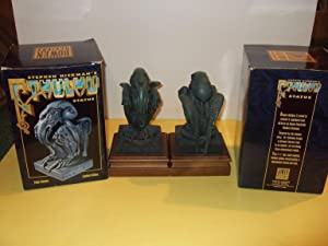 Stephen Hickman CTHULHU statue - # 190 and # 449 ( TWO STATUES, perfect as bookends for an H P Lo...