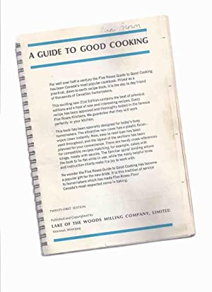 Centennial Edition of A Guide to Good Cooking - Five Roses Flour / Lake of the Woods Milling Comp...