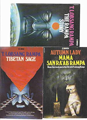 Tibetan Sage ---with The Rampa Story ---with Autumn Lady ---3 Volumes ---by T Lobsang Rampa and M...
