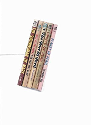 Five Volumes: Robert Grandon Trilogy -Planet of: Kline, Otis Adelbert
