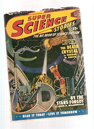 Super Science Stories May 1950 (Canadian Pulp): Simak, Clifford D.;