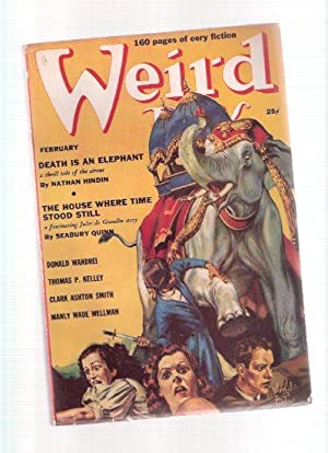 Weird Tales, February 1939 , Volume 33,: Howard, Robert E;