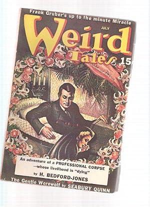 Weird Tales, July 1940, Volume 35, #: Bedford-Jones, H; Frank
