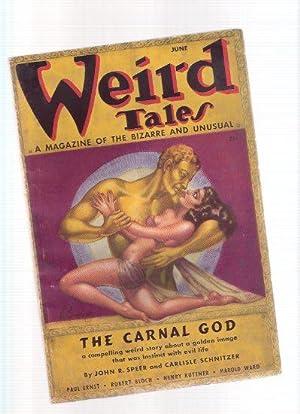 Weird Tales, June 1937, Volume 29, #: Speer, John r