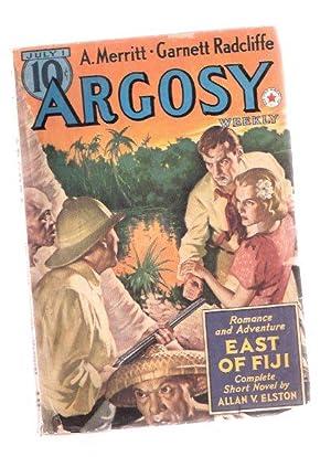 Argosy Pulp, July 1, 1939, Volume 291,: Elston, Allan Vaughan;