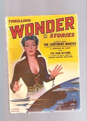 Thrilling Wonder Stories Pulp, April 1951, Volume: De Camp, L