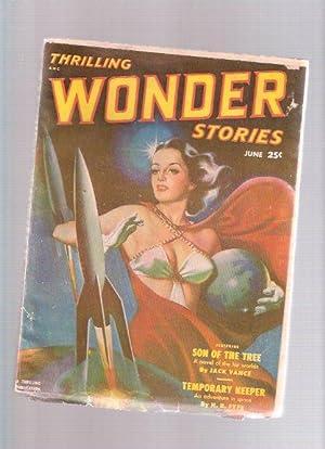 Thrilling Wonder Stories Pulp, June 1951, Volume: Vance, Jack; H