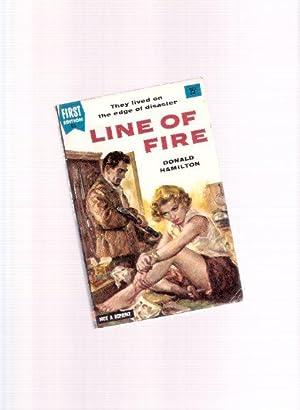 Line of Fire -by Donald Hamilton: Hamilton, Donald
