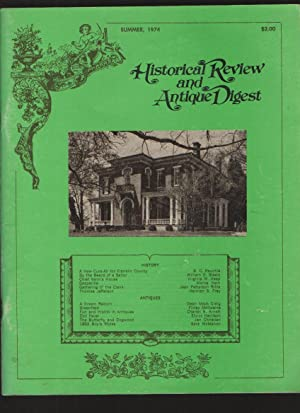 Historical Review and Antique Digest, Vol. 3,: Trickey, Katharine Shelburne