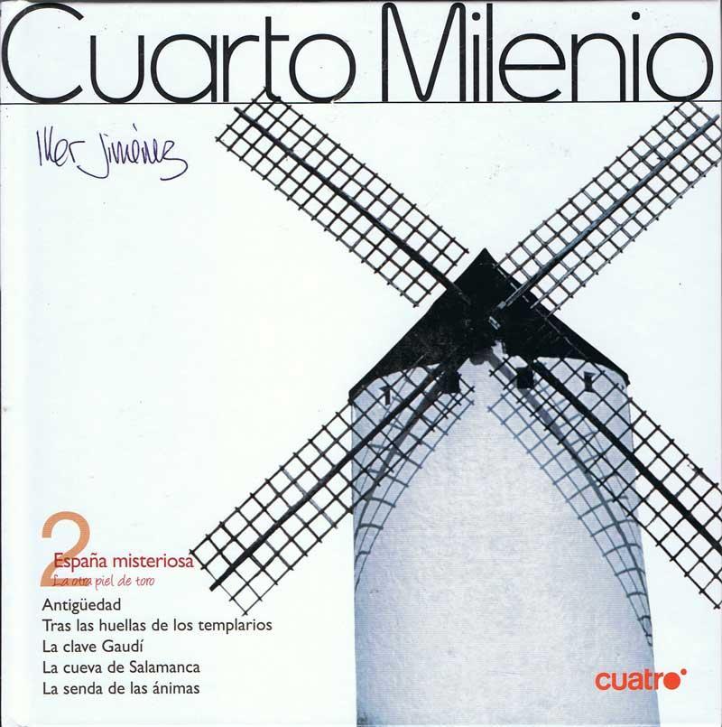 Cuarto Milenio Nº 2. España Misteriosa (Libro + DVD) de Iker Jiménez ...