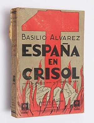 España en crisol: carta-prólogo del Ministro de España Dr. F.Jiménez de...
