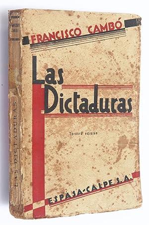Las dictaduras: Cambó, Francisco
