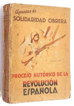 """Apuntes históricos de """"Solidaridad obrera"""": Proceso histórico de la ..."""