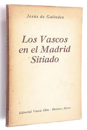 Los vascos en el Madrid sitiado: Galíndez, Jesús de