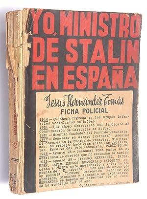 Yo, Ministro de Stalin en España: Hernández, Jesús