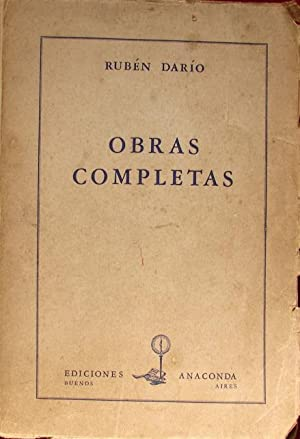 OBRAS COMPLETAS: DARIO, RUBEN