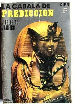 LA CABALA DE PREDICCION: IGLESIAS JANEIRO, J.