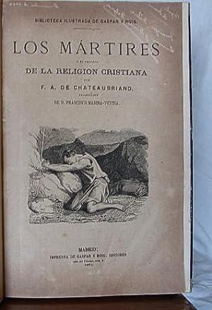 LOS MARTIRES DEL CRISTIANISMO: CHATEAUBRIAND