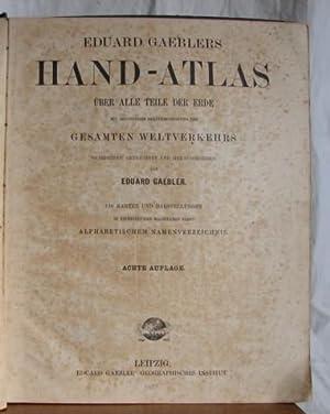 HAND ATLAS: GAEBLERS, EDOUARD