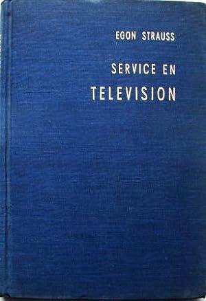 SERVICE EN TELEVISION: EGON STRAUSS