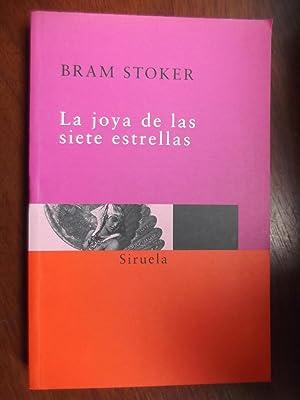 La Joya de Las Siete Estrellas: Bram Stoker