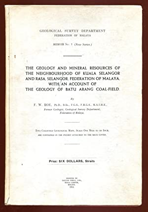The geology and mineral resources of the: Roe, F.W.